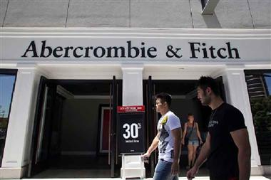 Chương trình giảm giá của Abercrombie Fitch trong ngày 11/11/2018 tại Trung Quốc