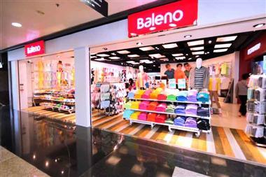 Hãng thời trang 2x tuổi Baleno tại giảm giá 11/11/2018