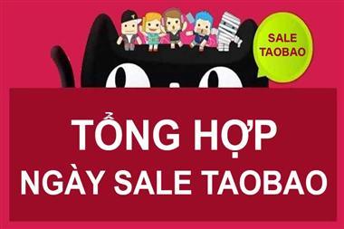Tổng hợp các đợt Sale giảm giá khuyến mại tại Trung Quốc