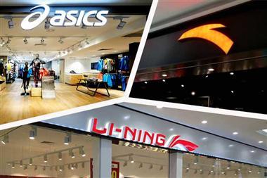 LI-NING ANTA ASICS bắt tay phá giá giầy thể thao trong sale 11/11/2018 trên Tmall