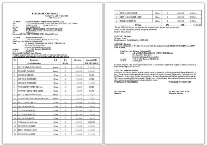 Mẫu Contract AKG 01-2014 BSI