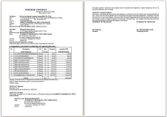 Mẫu Contract AKG 04-2014 BSI