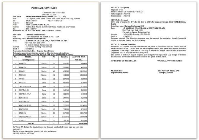 Mẫu Contract JBL 01-2014