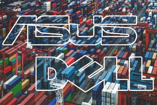 logistics thuê ngoài - bài học của asus và dell