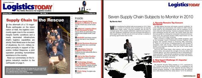 Logistics today magazine