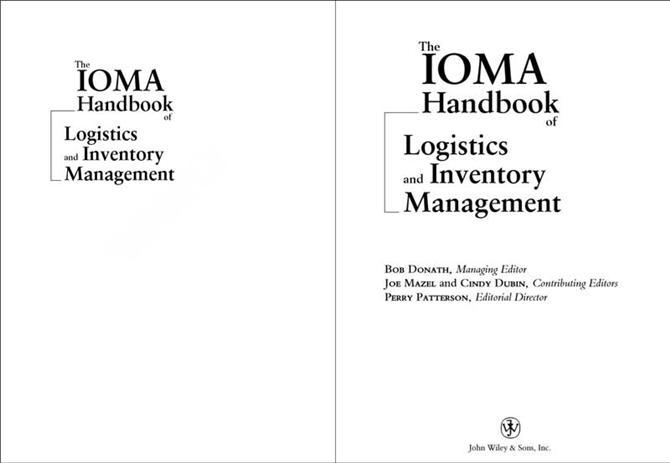 The IOMA Handbook of Logistics