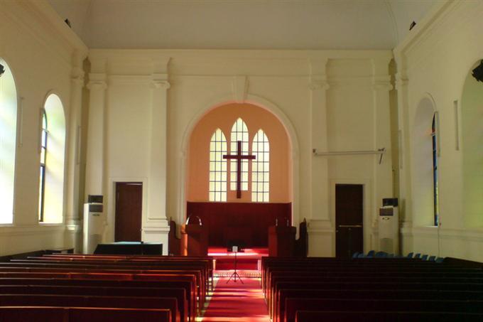 Đại lễ đường bên trong nhà thờ