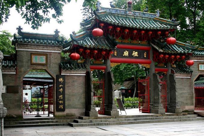 Thắng cảnh du lịch nổi tiếng Tổ Miếu Phật Sơn