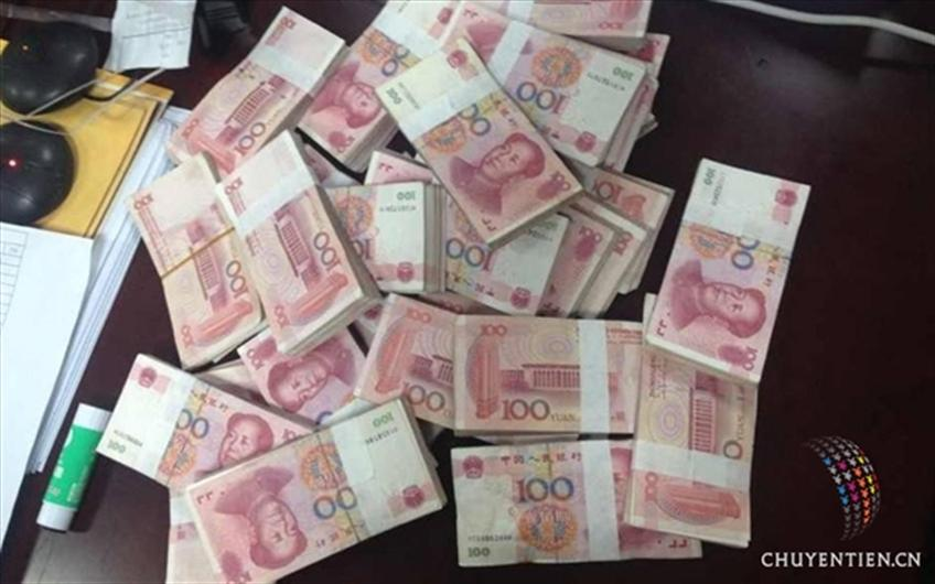 Chuyển tiền nạp ví điện tử