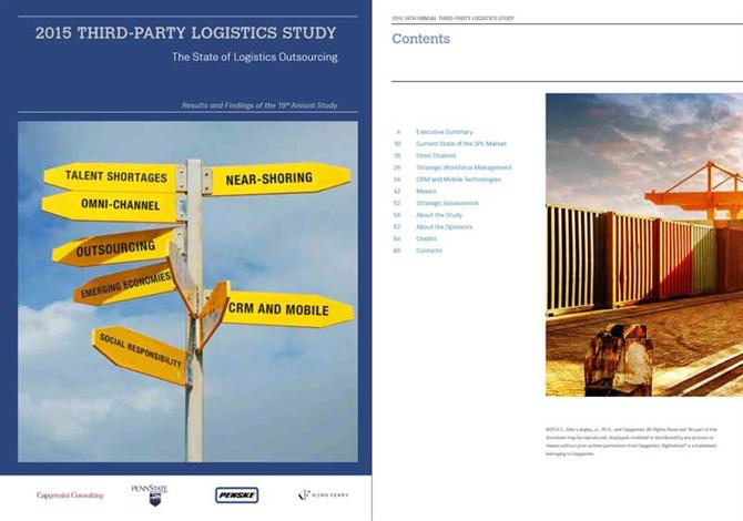Third Party Logistics Study 2015