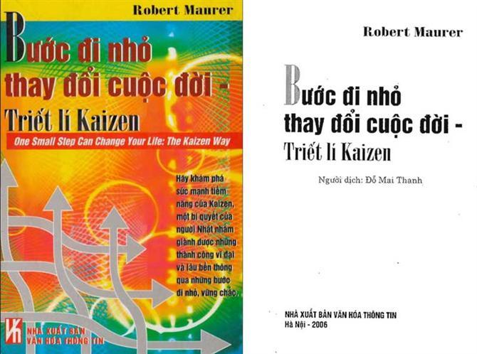 Kaizen - Bước đi nhỏ thay đổi cuộc đời