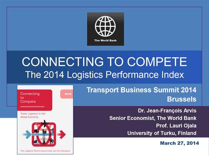 The 2014 Logistics Performance Index