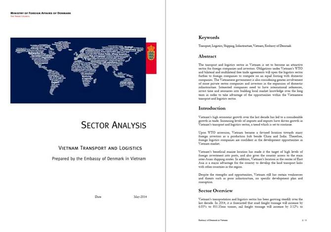 Vietnam Transport  Logistics Sector analysis 2014