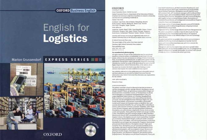 English for Logistics Book