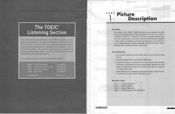 TOEIC Analyst Book