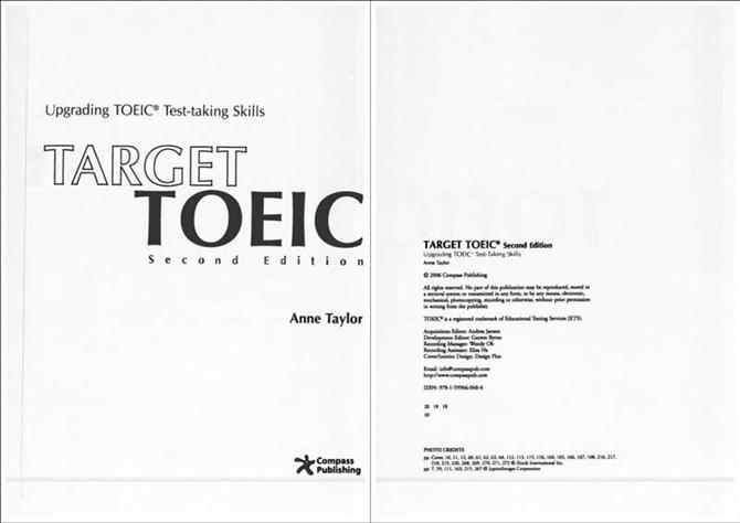 Tài liệu luyện thi - Target TOEIC