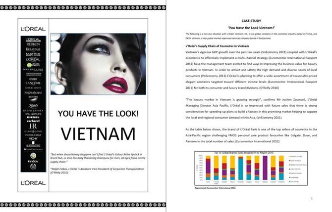 Case Study English: L'Oreal