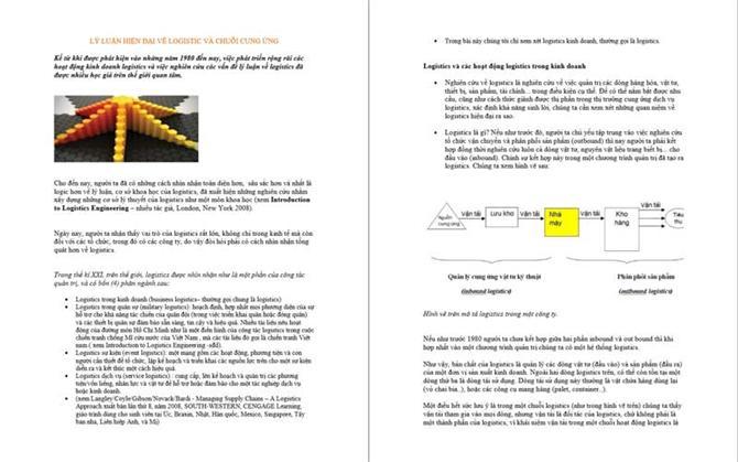 Lý luận hiện đại về Logistics và Chuỗi cung ứng