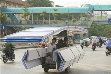 xử lý tiếp vận - vận chuyển từ Trung quốc về việt nam các lô hàng cồng kềnh - dễ vỡ