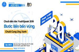 [YouthSpeak Forum 2019] Phát triển bền vững đang là xu hướng chung được các doanh nghiệp chú trọng