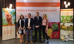 Việt Nam - Hà Lan hợp tác phát triển logistics trong nông nghiệp