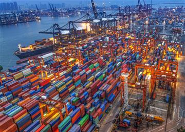 Dịch vụ vận tải container trên thế giới.