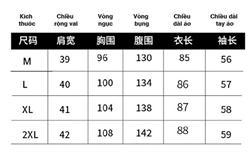 Dịch bảng size quần áo Trung Quốc CHUẨN nhất cho bạn hàng