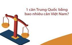 Giải Đáp 1 cân Trung Quốc bằng bao nhiêu kg ở Việt Nam