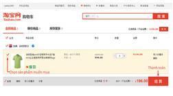 Hướng dẫn cách đặt hàng Taobao về Việt Nam không qua trung gian