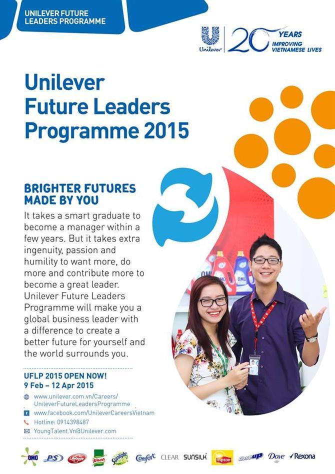 Unilever – NHÀ LÃNH ĐẠO TƯƠNG LAI 2015