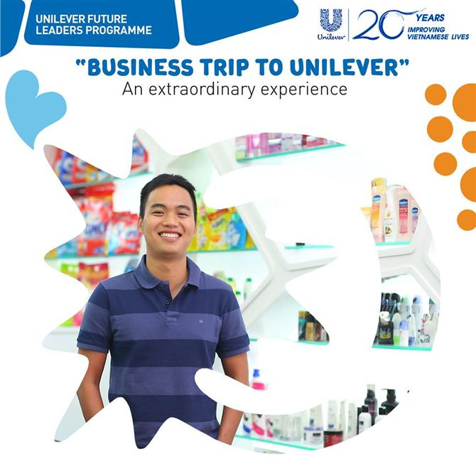 BUSINESS TRIP TO UNILEVER