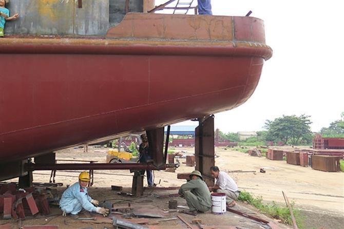 đóng tàu dự báo lao dốc