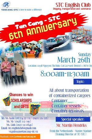 CLB Tiếng Anh Logistics Miễn phí của Tân Cảng – STC English Club