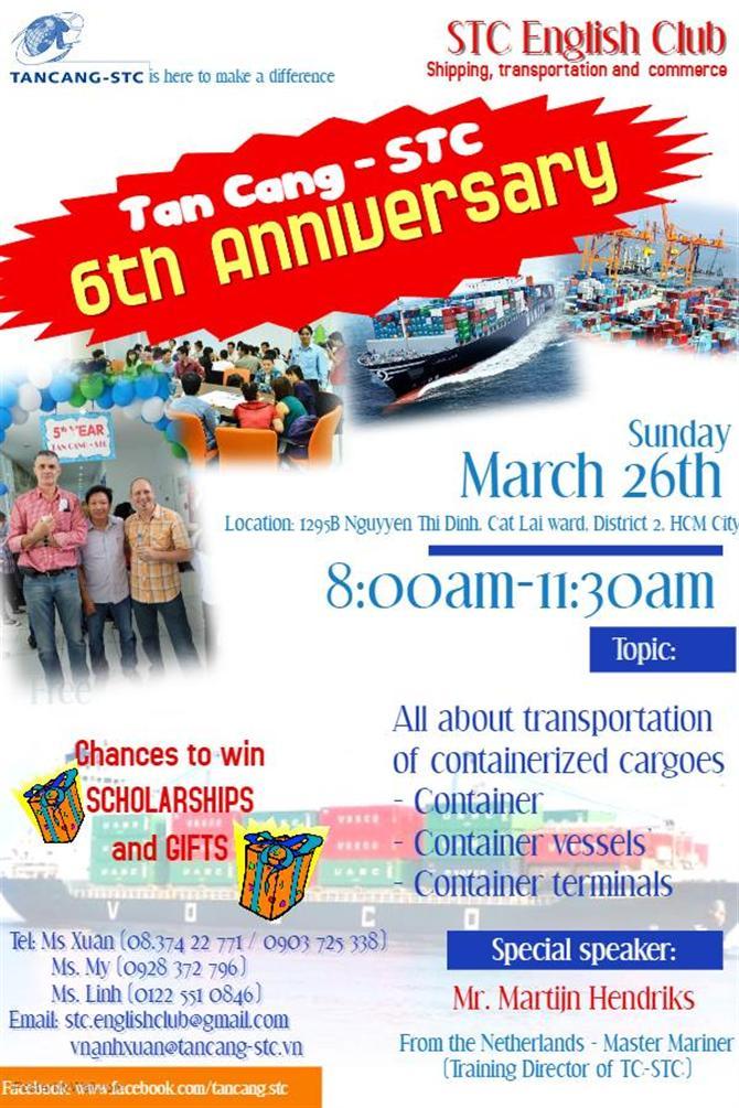 CLB Tiếng Anh Logistics Miễn phí của Tân Cảng - STC English Club