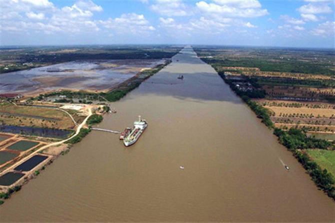 Dự án Luồng cho tàu biển trọng tải lớn vào sông Hậu