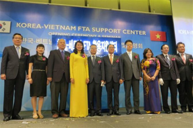 FTA Việt Nam - Hàn Quốc