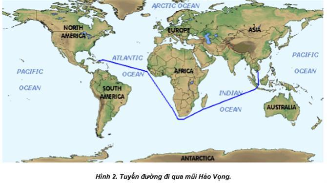 tuyến đường hàng hải qua mũi Hảo Vọng (Good Hope)