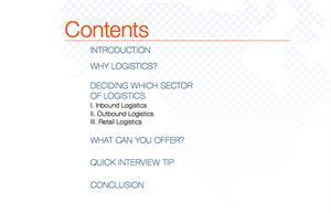 3 Ebook giúp bạn chọn nghề nghiệp Logistics phù hợp