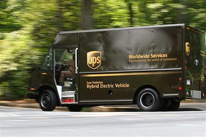 case study ứng dụng big data của UPS