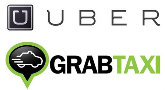 Uber và Grab