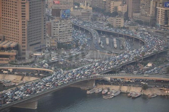 Nile Taxi – Giải pháp giảm tắc nghẽn giao thông ở Cairo