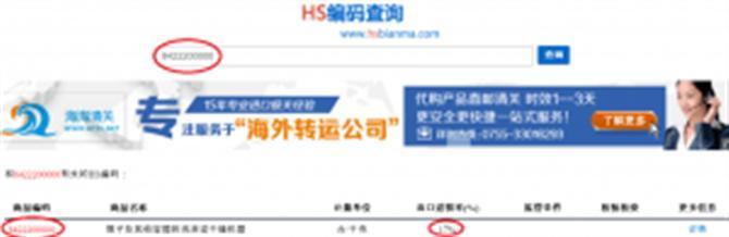 Hoàn thuế nhập khẩu Trung Quốc