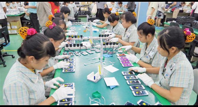 Doanh nghiệp Việt tham gia chuỗi cung ứng Samsung tăng vọt