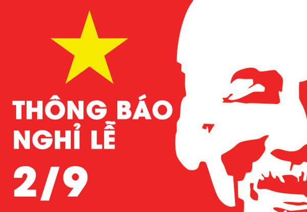 Lịch nghỉ lễ Quốc khánh Việt Nam 2019 - iChina Company